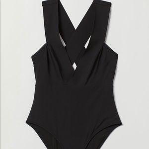 H&M low cut V swimsuit, Paris